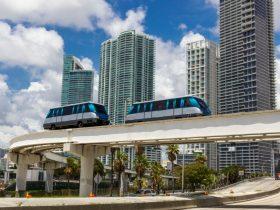 Miami Transport Bus Train