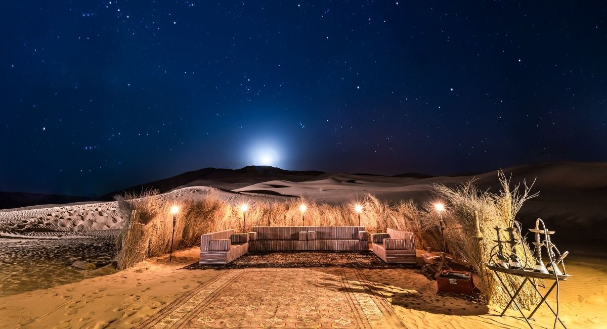 maroc dormir desert
